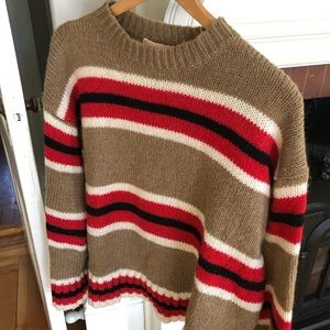 Urban Outfitters Striped Boyfriend Sweater